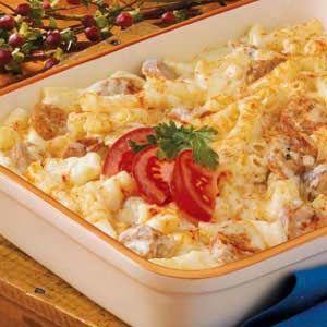 Baked Ziti and Sausage Recipe