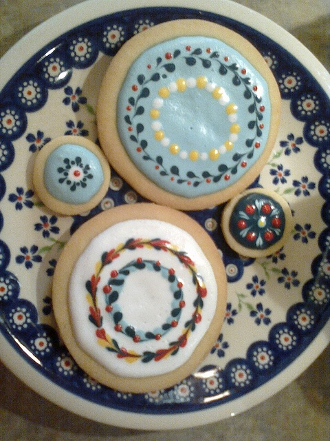 polish pottery COOKIES, these are amazing!