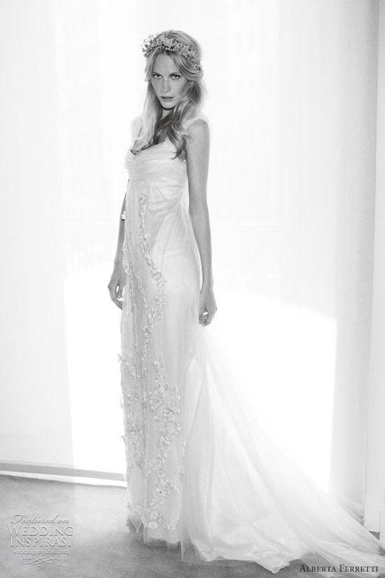 hippie wedding dresses 2012 alberta ferretti