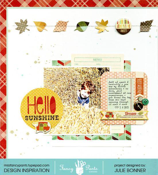 Hello Sunshine - Scrapbook.com