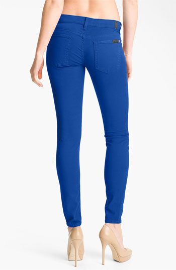 7 For All Mankind® 'The Skinny' Overdyed Jeans #Nordstrom