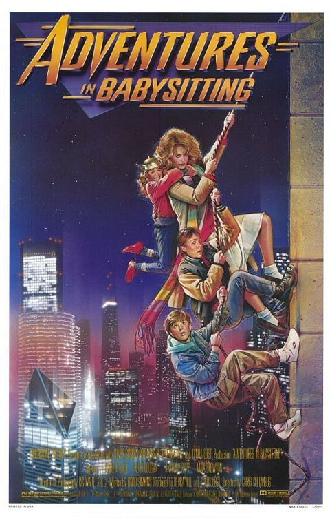"""Adventures in Babysitting """"Don't f*** with the babysitter!""""  #80s"""