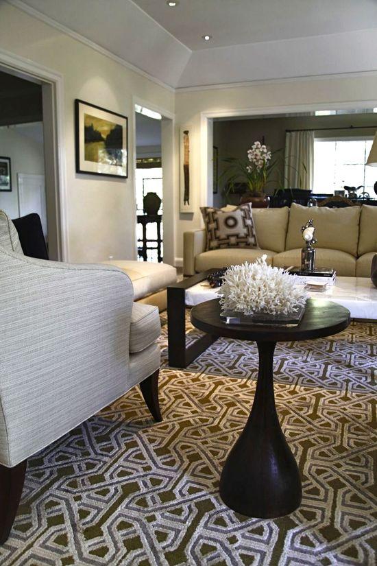 Living Room - design by Weaver Design Group