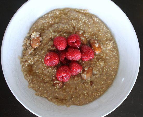 Whole Nourishment: Overnight Quinoa Oatmeal