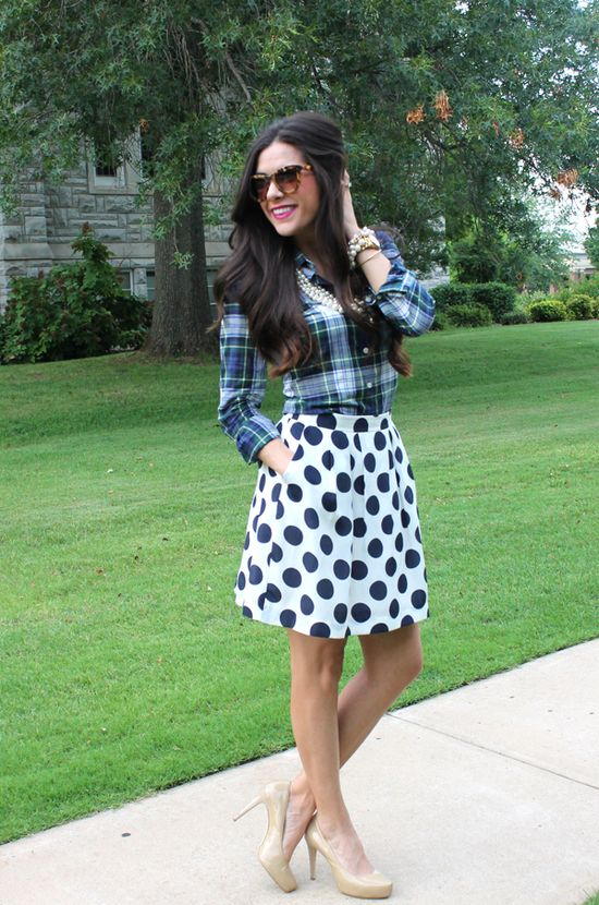 pretty print mixing {love this outfit}