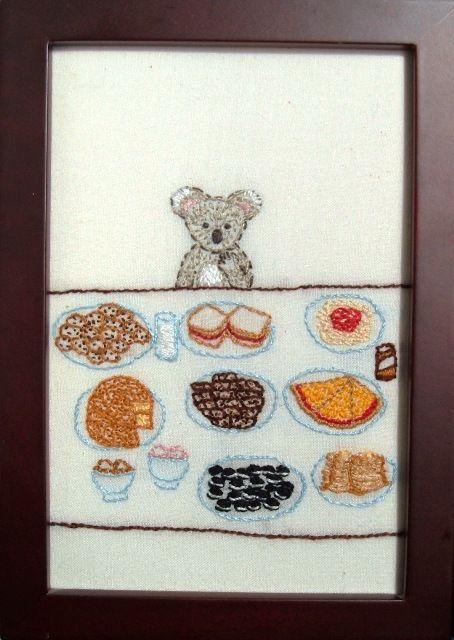 Koala & Food Via www.naomicayne.com