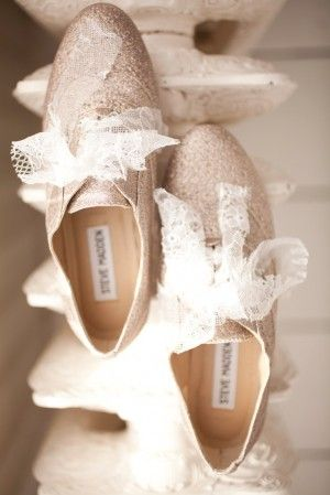 Gold & Lace / Wedding Oxfords