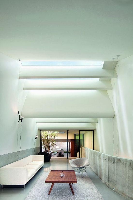Stunning Living Room Design Ideas With Skylights