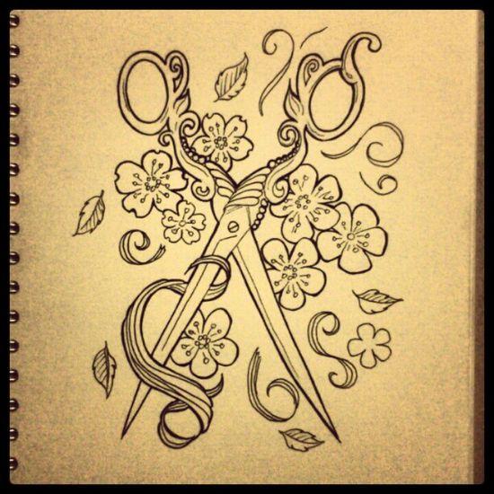 Beautiful tattoo design by Becki Zaffino