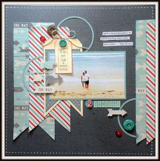 #papercraft #scrapbook #layout Rochelle Spears