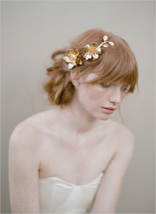 gold hair accessory by twigs & honey
