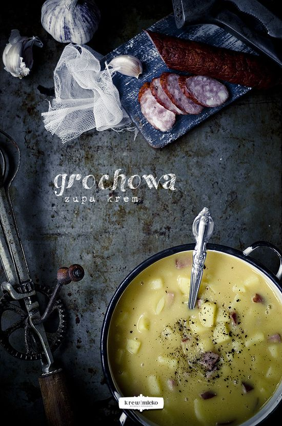 Creamy Pea Soup #recipe