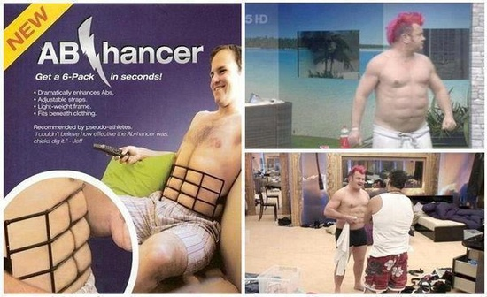 The Abhancer, get Abs in Seconds
