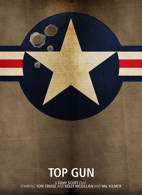 Top Gun - Minimalist Movie Poster
