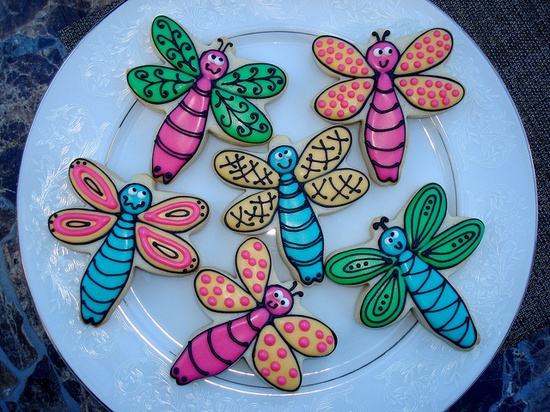 Dragonflies! by cookie cutter creations (jennifer), via Flickr