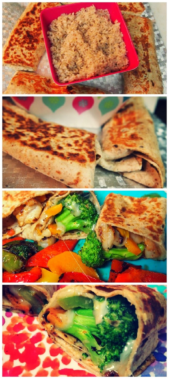 Low Calorie Cheesy Vegetable Shrimp Fajitas: I don't care for shrimp so I omitted it from the recipe, but I thought it was super good without it! Very easy and healthy recipe.