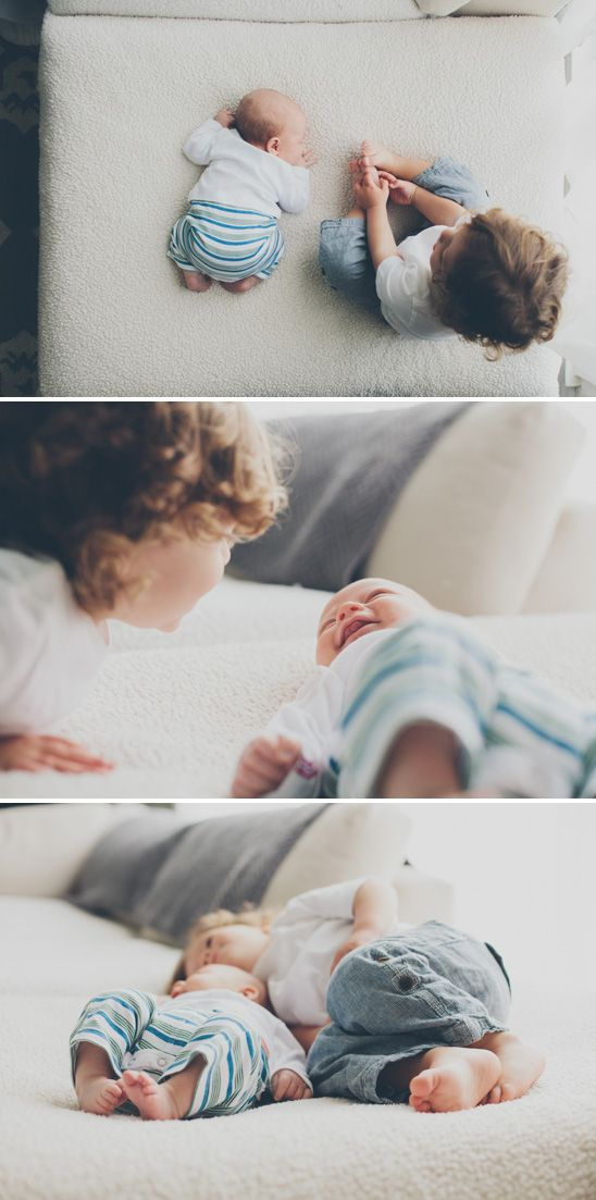 Check out this fantastic sibling shoot. Selective focus, lovely natural light, some fresh angles and some secret moments to last a lifetime x #foto-classes #siblings #natural #light #laughter #love #family #baby #toddler