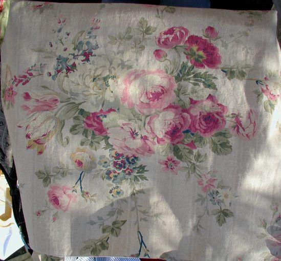 ? beautiful antique rose fabric