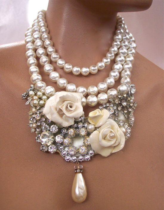 Using vintage jewelry