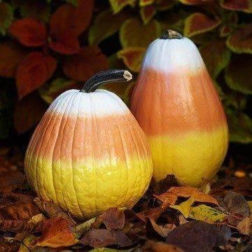 Spray paint your pumpkins this season.