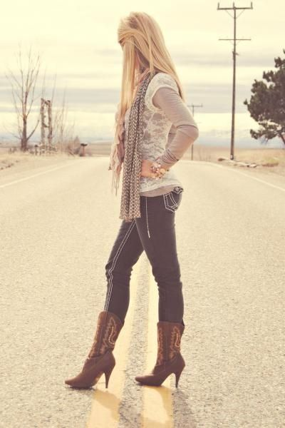 A little country - love!! .. totally 110% my style :)