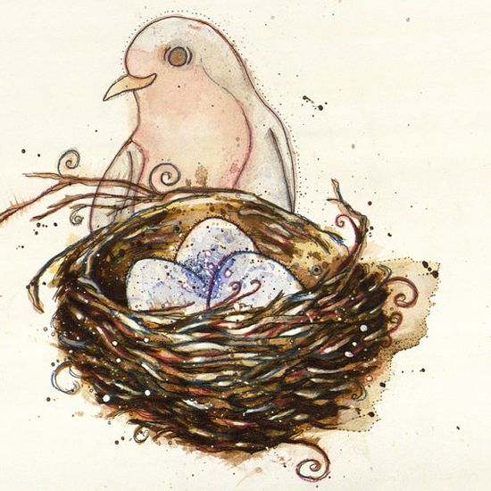Robin Greeting Card by HollyCampCards on Etsy, $4.50                                                 youtube to mp3