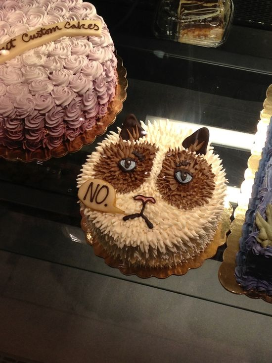 Grumpy cake