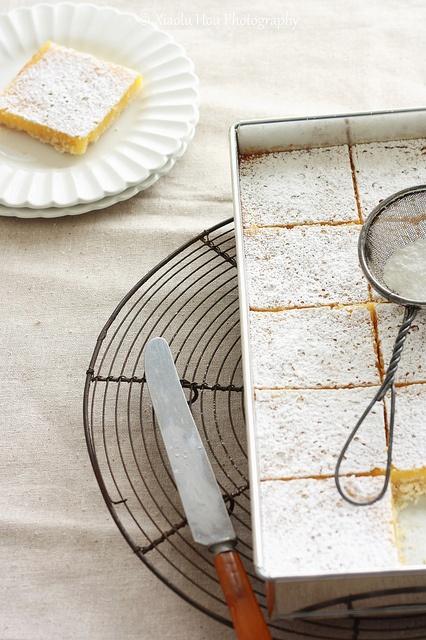 lemon passionfruit tart