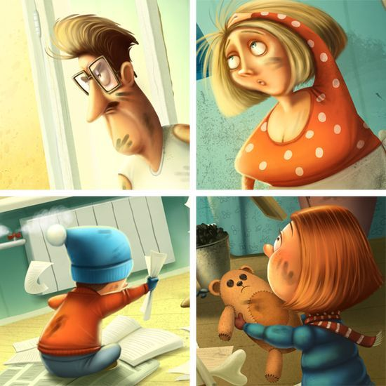 3D Characters #3D