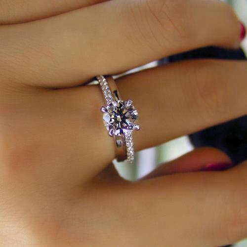 Pretty purple diamond!