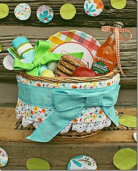 a picnic basket gift