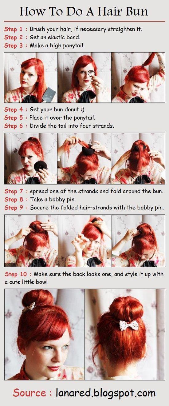 How To Style A Hair Bun