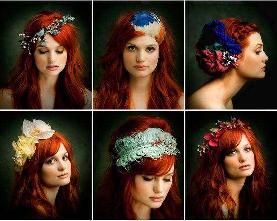 Gorgeous hair accessories