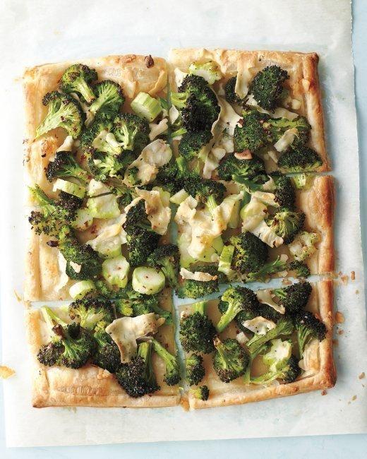 Broccoli-Pecorino Tart Recipe