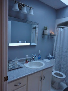 Bathroom Update # DIY Bathroom # $250.00 Bathroom Update # Before and After
