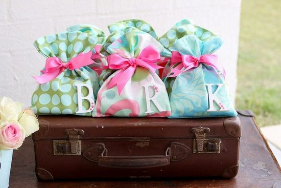 cutest fabric treat bags ever via ruby may designs