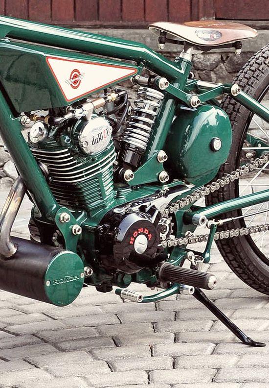 Honda GL100 bobber