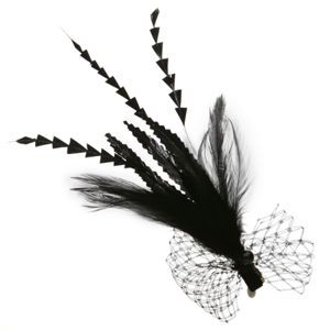 Jane Tran Hair Accessories Feather Clip, $45