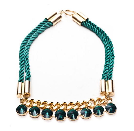 2013 Spring Emerald Green Gothic Obsession Gold/ by XPRESSU, $105.00