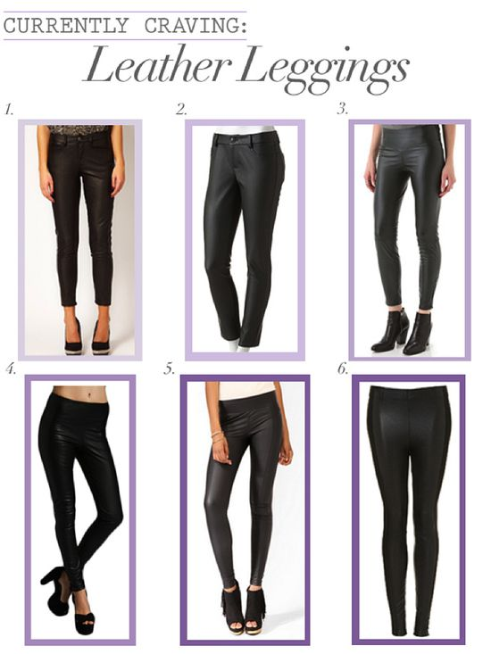 leather leggings for fall and winter