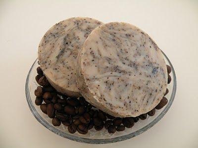 Crockpot coffee soap