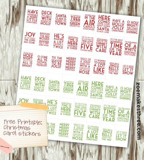 Christmas card envelope seal stickers #christmas #christmascard @kit hinkle