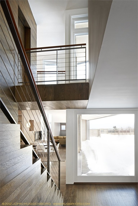 Hillsdale Screen House - Stati Uniti d'America, United States - 2012 - CR Studio Architects #design #interiors #stair
