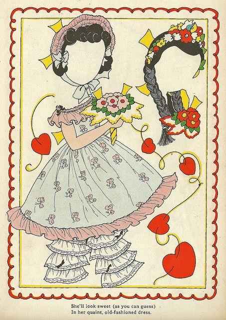Vintage Paper Doll 2 by shelece, via Flickr