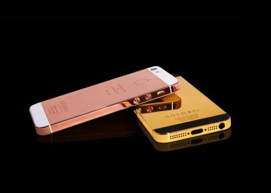 24 karat gold plated iphone 5 case