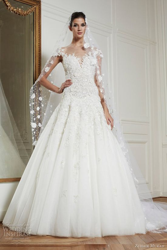 love this one.. zuhair murad wedding dresses fall winter 2013 bridal amanda gown