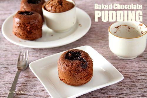 Baked Chocolate PUdding