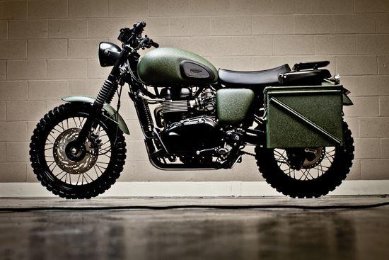 2010 TriumphScrambler - Pipeburn - Purveyors of Classic Motorcycles, Cafe Racers & Custom motorbikes