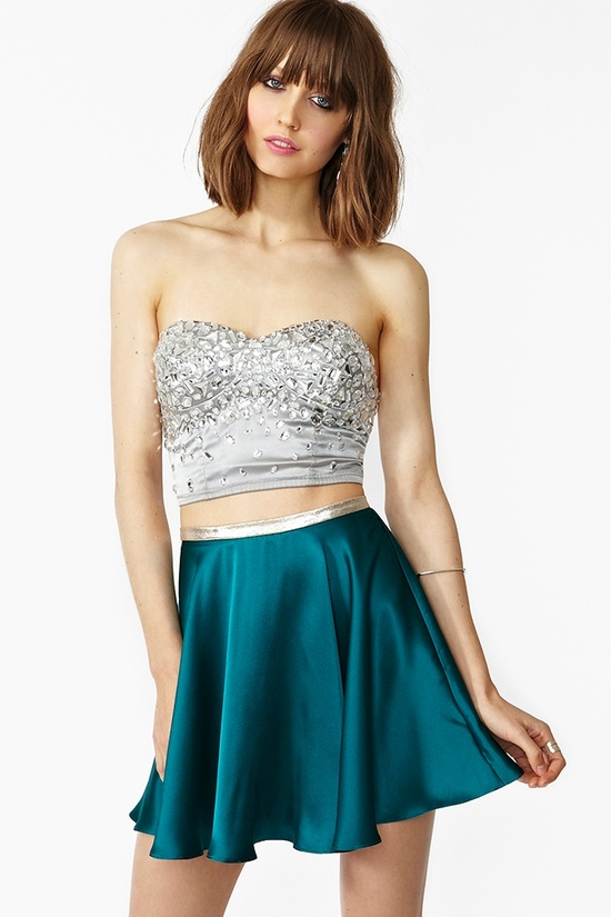 In Your Dreams Skirt in Teal
