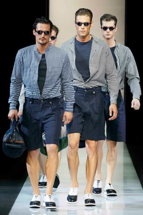 Giorgio Armani Spring-Summer 2013 in Men's Fashion Week in Milan